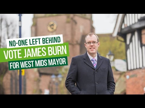 Help Fund the Green Party Campaign for West Midlands Mayor 2017