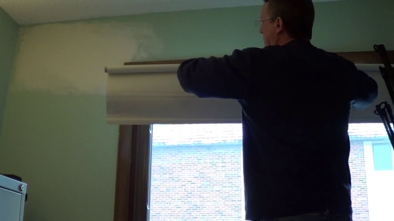 How To Increase The Spring Tension Of A Window Shade Youtube