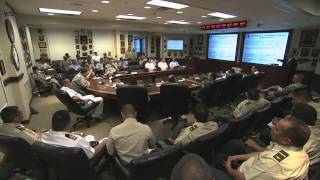 Colombian Command and General Staff College Student Visit