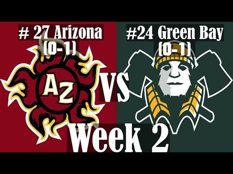 #27 Heat vs # 24 Axemen [Axis Football 2017 - Franchise Mode]