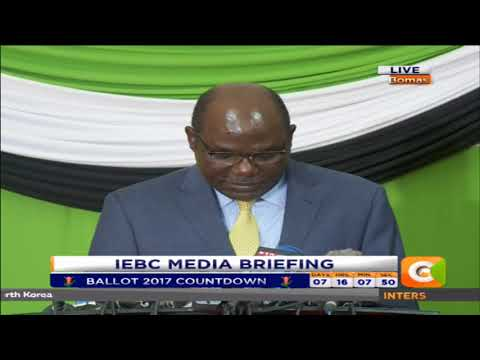 I have been out-voted numerously: Chebukati