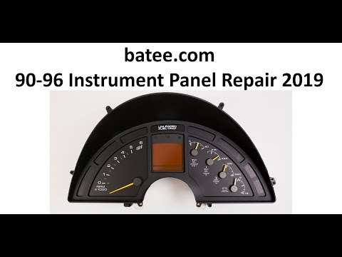 90-96 Corvette #1 - Instrument Panel Repair Digital Gauge LCD (2019)