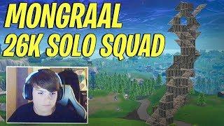 Mongraal SOLO VS SQUAD 26 KILLS Season 6 - Most Aggressive Fortnite Player