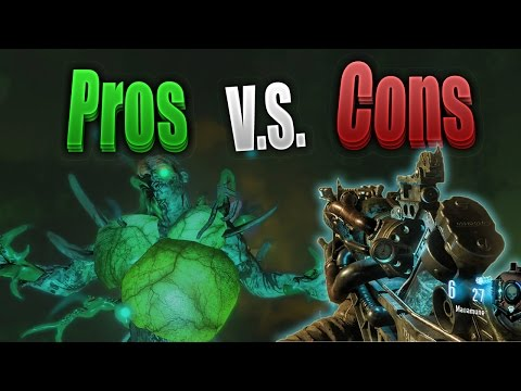 "'Zetsubou No Shima' PROS and CONS Series: ""KT-4 & MASAMUNE"" Edition (Black Ops 3 Zombies)"