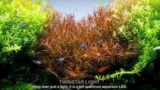 twinstar light 600e full spectrum aquarium rgb led