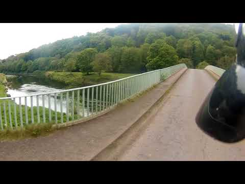 A Ride Over Bigsweir Bridge on the River Wye