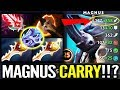 MAGNUS CARRY IS BACK !!! - DOTA2 NEW 7.21 MID HERO x2 DIVINE SO CANCER