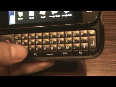 Motorola CLIQ: Hardware Quicklook Questions