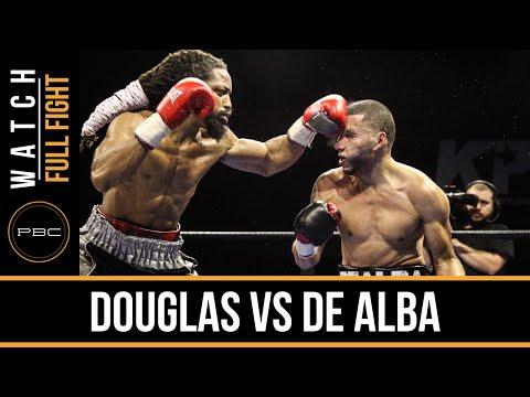Douglas vs De Alba FULL FIGHT: Dec. 29, 2015 - PBC on FS1