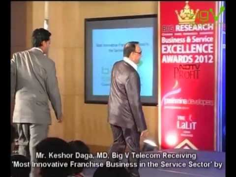 Big V Telecom Bags 'Most Innovative Franchise Business In The Service Sector' Award