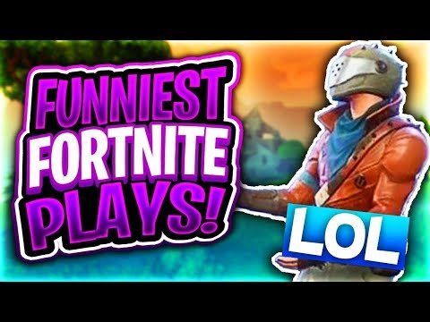 MY FUNNIEST FORTNITE BATTLE ROYALE FAILS! (Triggered Level Over 9000)
