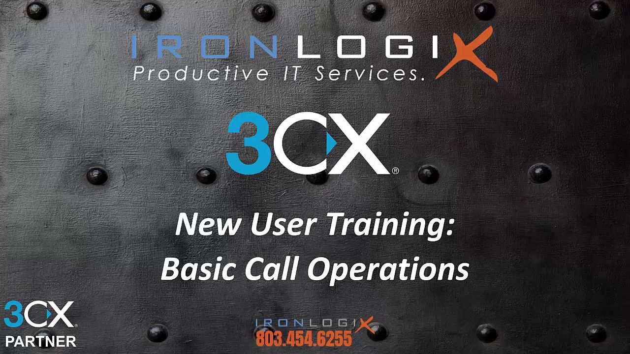 3CX New Users: Basic Call Management