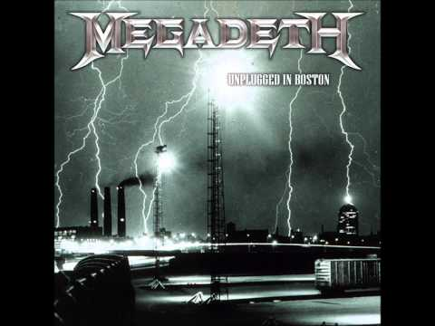 Megadeth  Unplugged in Boston 2006 MP3  Full Concert
