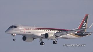Mitsubishi MRJ-90 Missed Approach During a Test Flight JA21MJ