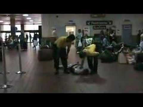Police Brutality at the Denver Greyhound Bus Terminal