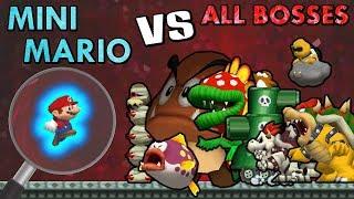 [TAS] Mini Mario VS All Bosses | HD 60FPS