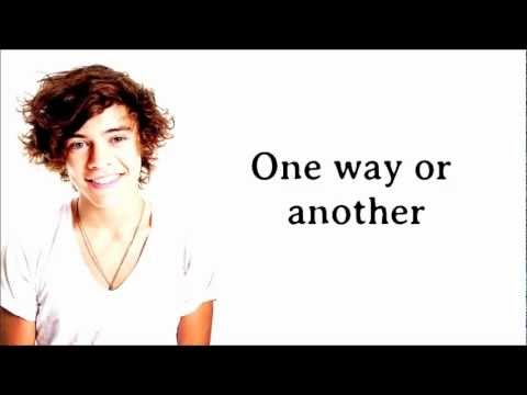One Direction  One Way Or Another Teenage Kicks Comic Relief 2013 Lyrics