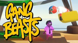 Gang Beasts - ДЕНЬ БЕЗУМНЫХ УРОВНЕЙ! (Брейн и Даша)