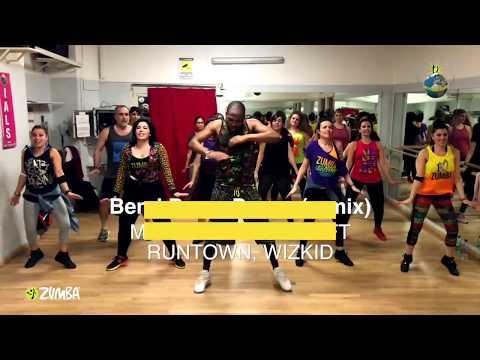 Runtown - Bend Down Pause Remix ft. Wizkid & Machel Montano | Soca [ZUMBA] Coreografia Ufficiale