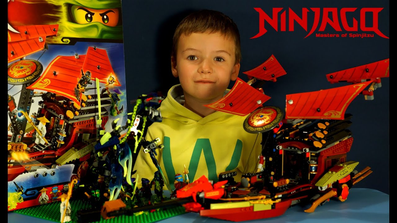 LEGO NINJAGO 7 738: Корабль Дар Судьбы