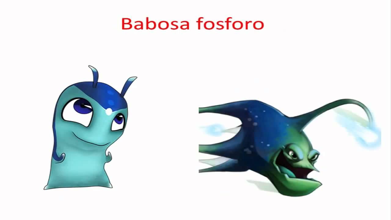 Imagenes Bajoterra para Imprimir - Babosas | Kit De Imagenes