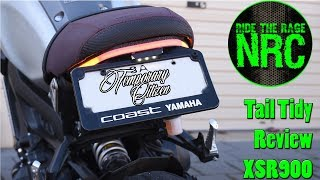 Yamaha XSR900 Coolest Fender Eliminator? - NRC Review/Install