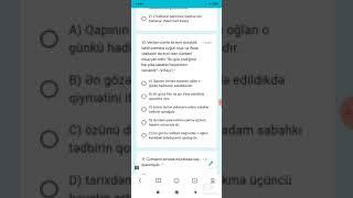 Sınaq 1- Azərbaycan dili və ədəbiyyat 40 sual. Eyvaz Əyyub əlaqə 0515322432 #miq_sertifaksiya