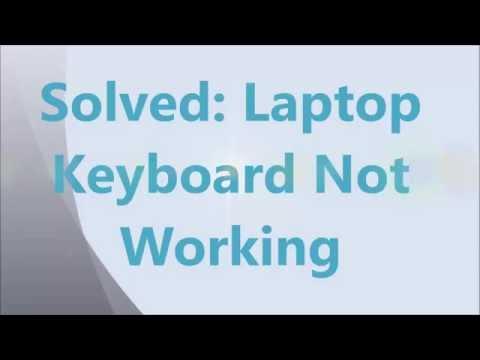 Solved: Laptop Keyboard Not Working