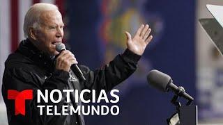 Joe Biden aventaja a Donald Trump, según una encuesta de Noticias Telemundo | Noticias Telemundo