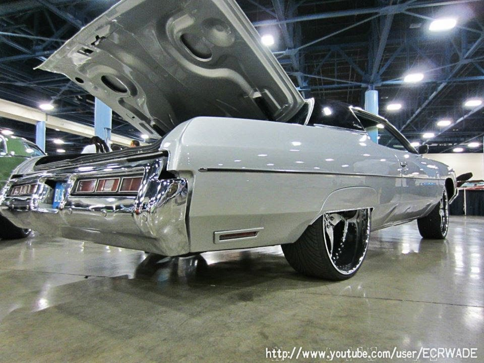 "Prestige Autoworx 1972 Chevrolet Impala on 26"" Forgiao ..."