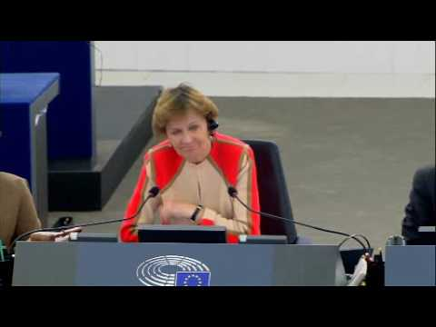 Marietje Schaake plenary speech on EU relations to Iran after the nuclear deal
