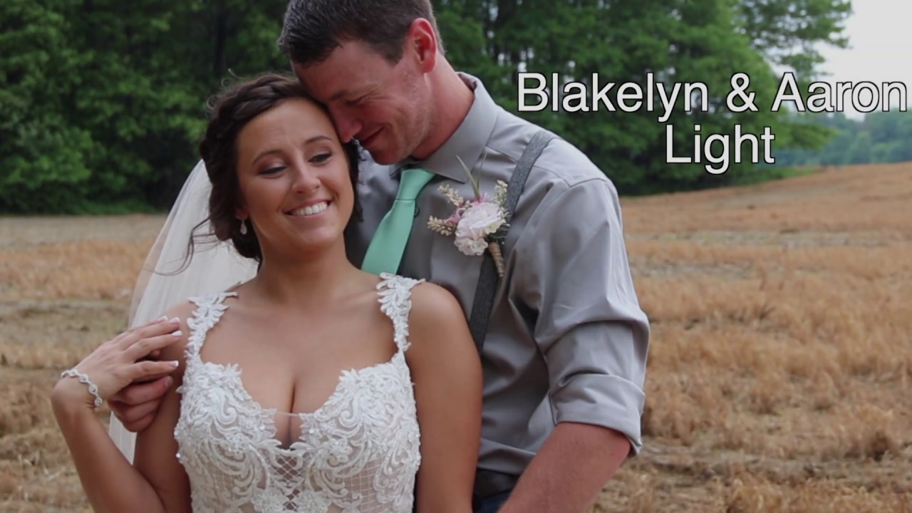 Aaron and Blakelyn Light Wedding Video