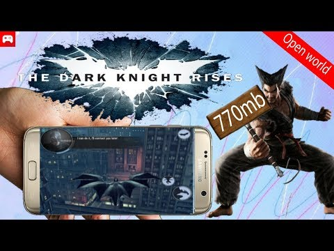 BATMAN THE DARK KNIGHT RISES APK+DATA LATEST VERSION DOWNLOAD FOR ALL DEVICES