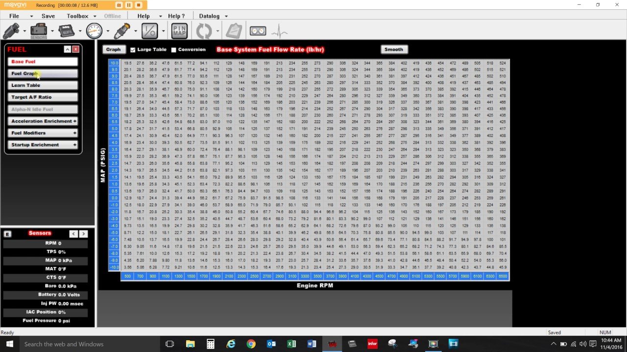 Holley EFI Software Tips - Part 2