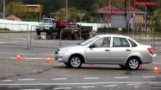 Lada Granta - первый тест серийной машины