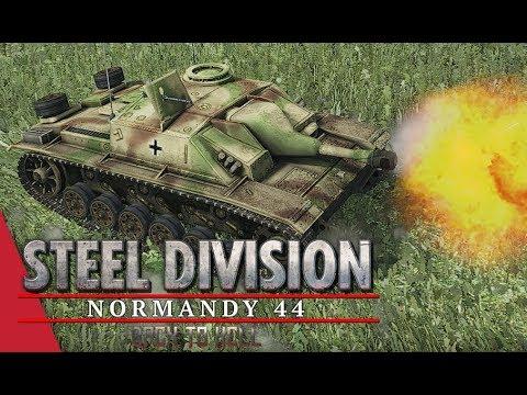 3rd APT Semi Final LB! Steel Division: Normandy 44 - Corbeau vs Tarsh IV (Cheux, 1v1)