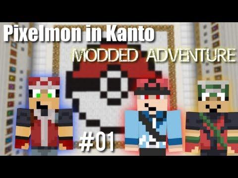 The Kanto World - Pixelmon In Kanto Minecraft Map Ep. 1