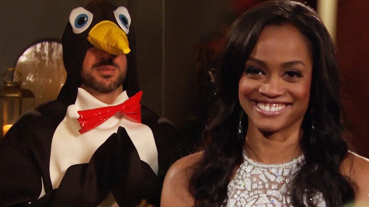 The Bachelorette First Look Meet Penguin Man In Wackiest Limo Exit Ever