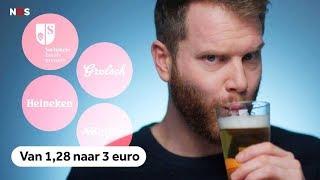 Waarom je biertje steeds duurder wordt