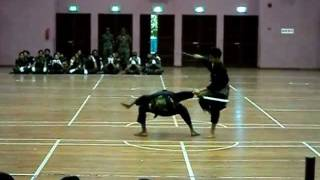 SJM Gayong Martial Arts Team in YISS - The Art of Combat with Parang