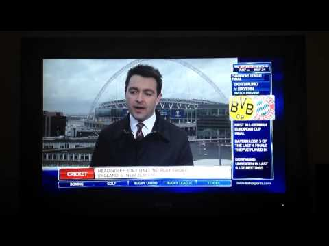 Sky Sports News - upset correspondent