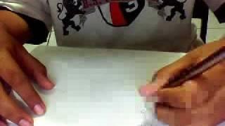 how to draw a stickman ninja