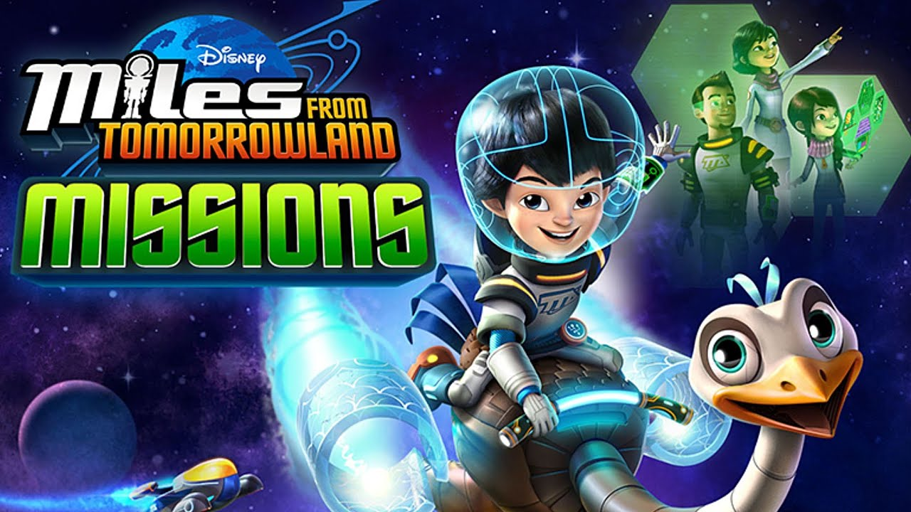 miles from tomorrowland missions free game app for kids ipad android youtube - Disney Free Kids Games