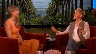 Taylor Swift Talks Ex-Boyfriends on Ellen