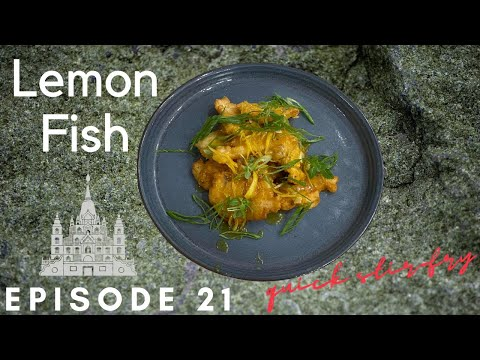 How To Make Fish With Lemon Sauce / Chinese Style Fish In Lemon Sauce/Lemon Fish