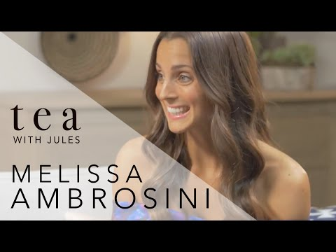 Tea with Jules with bestselling Author and Speaker Melissa Ambrosini
