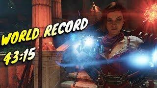NEW WORLD RECORD Ancient Evil Easter Egg Speedrun - 43:15