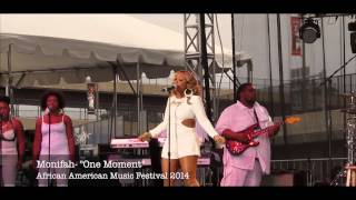 "Monifah Performs ""One Moment"" at AFRAM 2014"