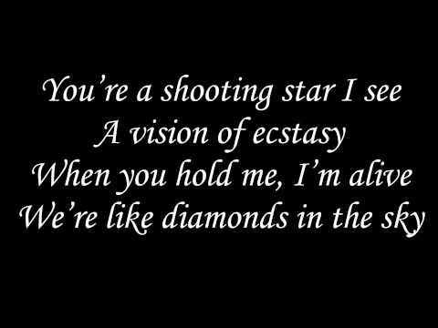 Diamonds - Rihanna (acoustic) w/ lyrics