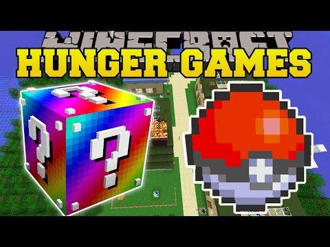 Minecraft: POKEMON HUNGER GAMES - Lucky Block Mod - Modded Mini-Game